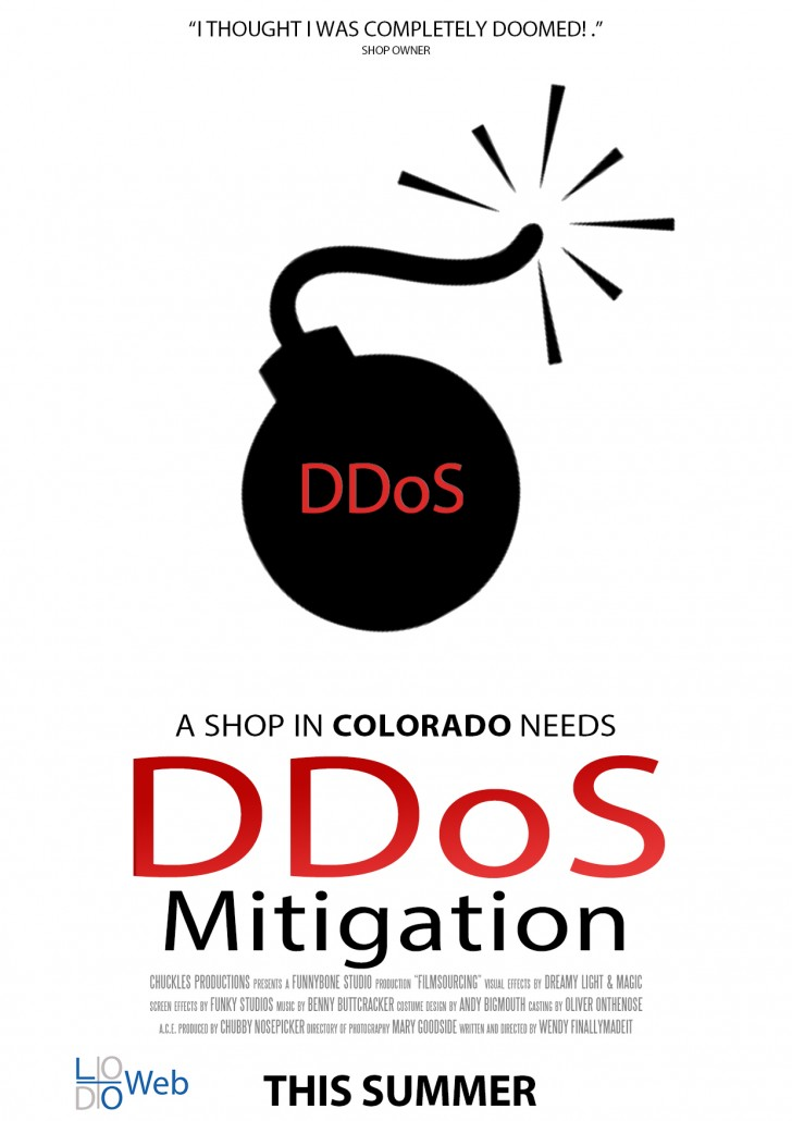 LoDo_Web_DDoS_Prevention_This_Summer_Movie_Poster